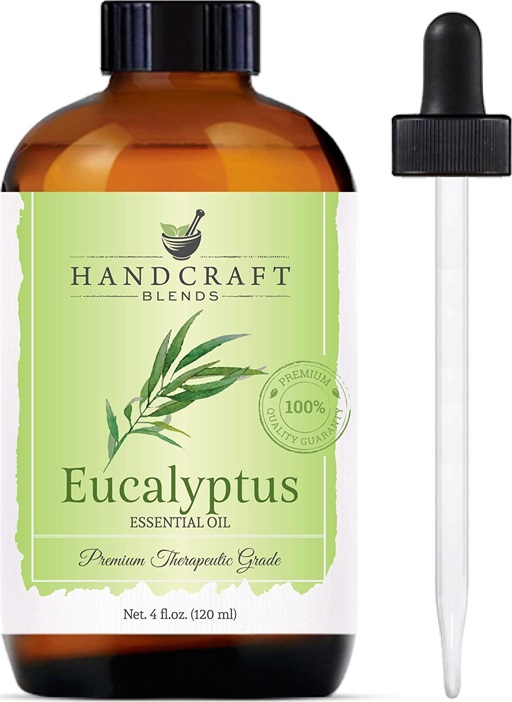 Handcraft Eucalyptus Oil - 100% Pure and Natural - Premium Therapeutic Grade
