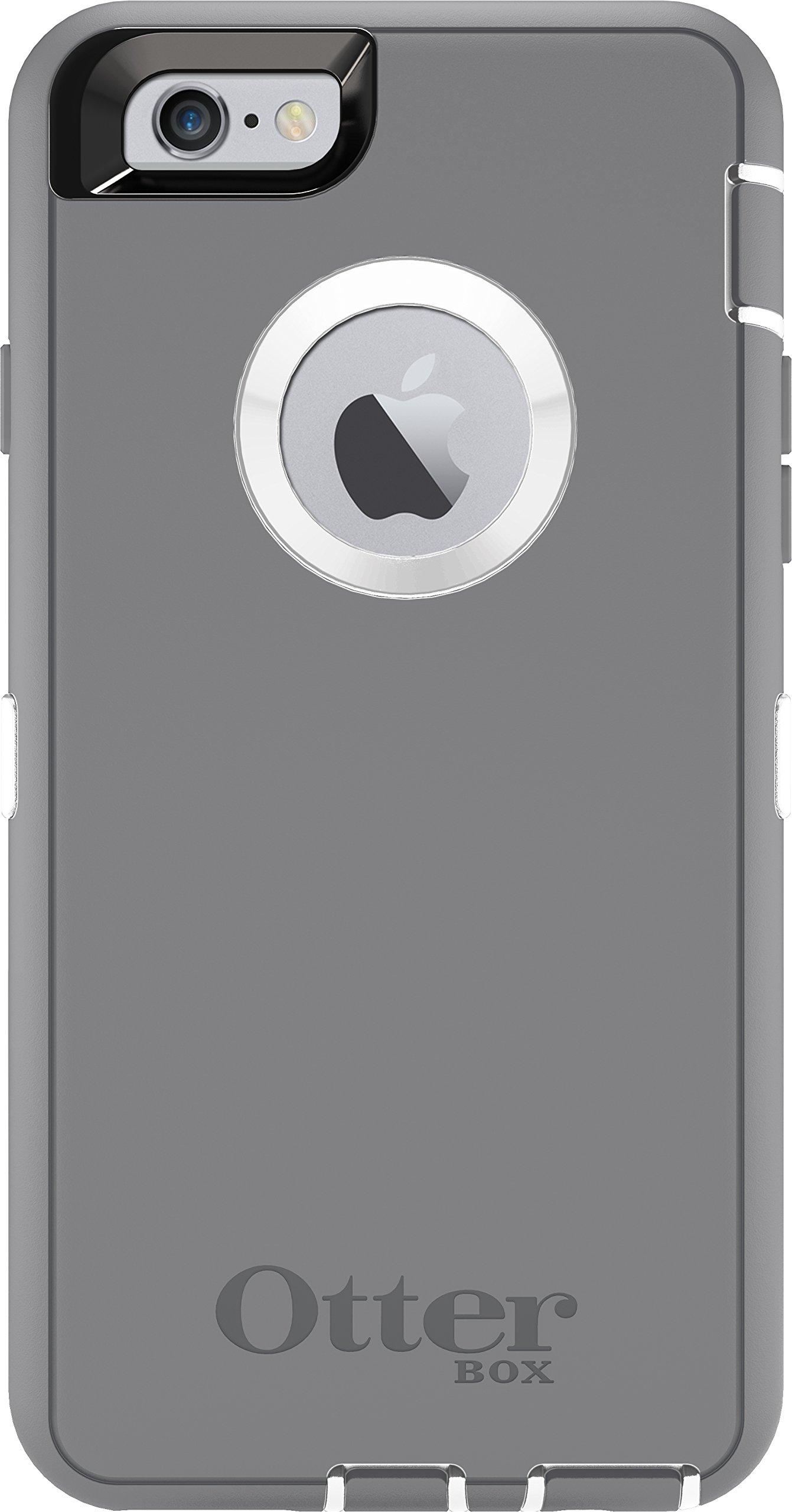 Otterbox Defender Iphone 6/6S Case - Retail Packaging - Glacier (White/Gunmet.. 12