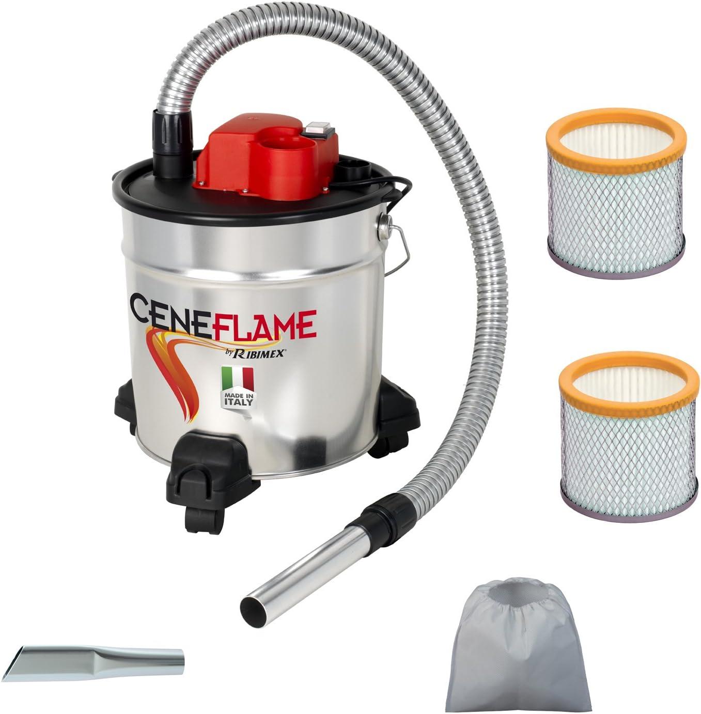 AAspiracenere elettrico CENEFLAME made in italy con 2 filtri hepa e 1 lancia piatta in omaggio