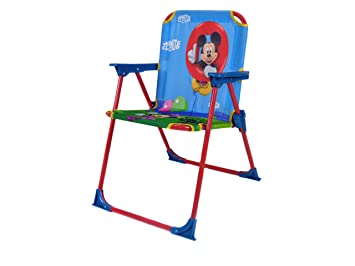 Delightful Disney Mickey Mouse Folding Patio Chair For Children