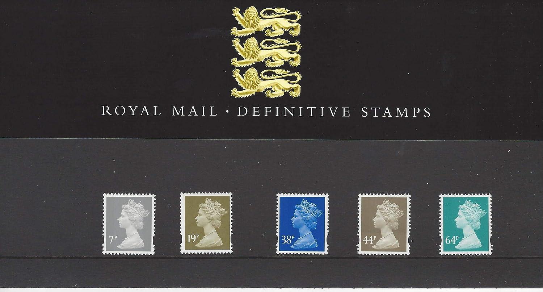 Royal Mail - Pack de 44 sellos definitivos: Amazon.es: Oficina y papelería