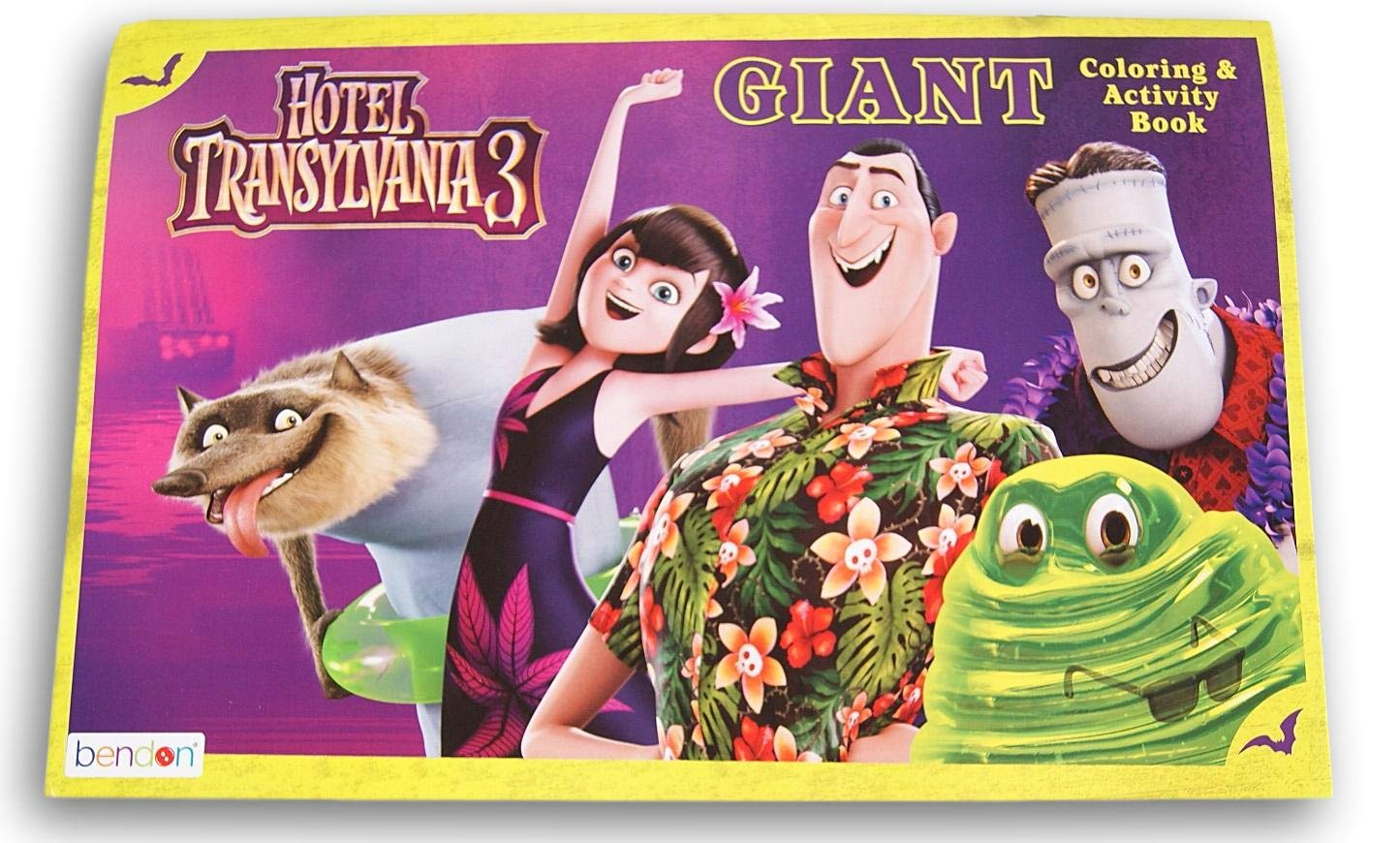 10.5 x 16 Inches Coloring Books Hotel Transylvania 3 Giant Coloring and Activity Book