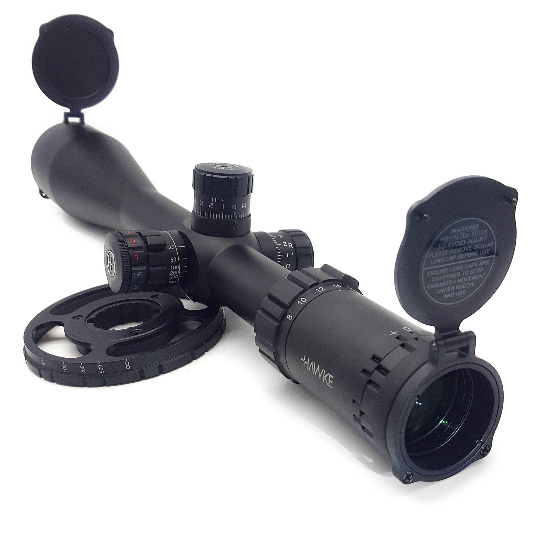 Hawke Sport Optics Riflescope - Sidewinder 30 SF 8-32x56 1/2 Mil Dot IR