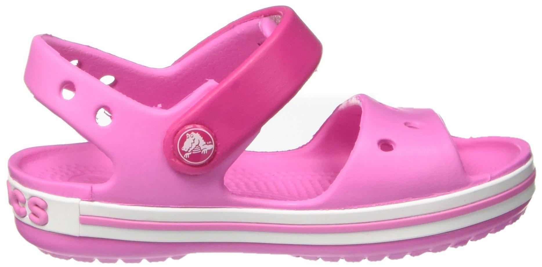 Crocs Crocband  Fun Lab   Light-Up Clog, Pink, C6 M US Toddler by Crocs (Image #15)