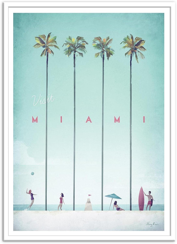 Art-Poster Visit Miami Henry Rivers
