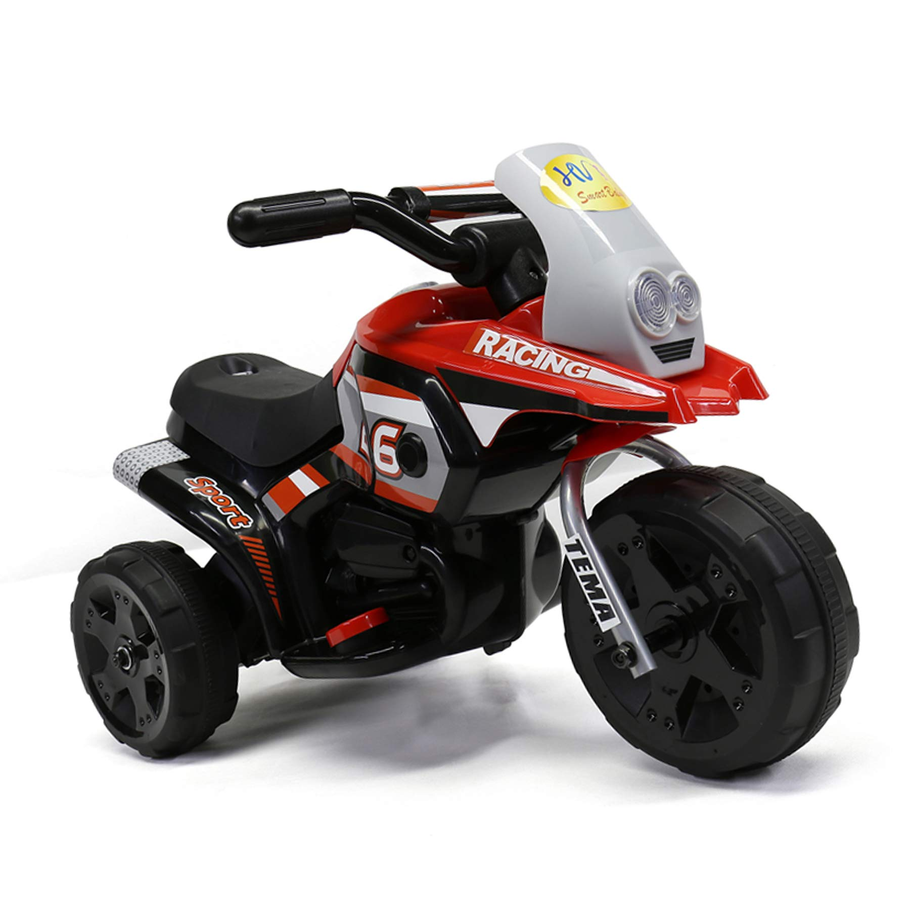 MIGOTOYS GO MIGO Racing Motorcycle Ride on Car for Kids1-3 Year Old, Red