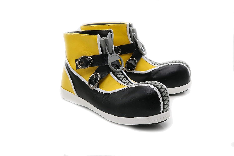 Sora Shoes Kingdom Cosplay Heart Stylish Zipper PU Halloween Costume Boots