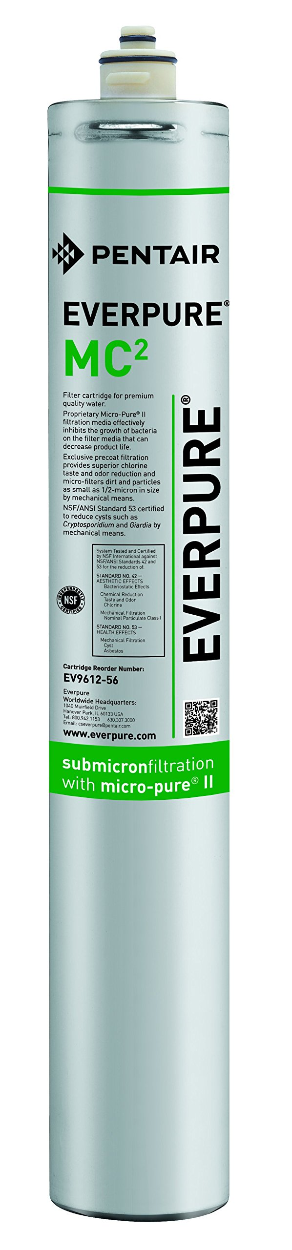Everpure EV9612-56 MC2 Filter Cartridge by Everpure