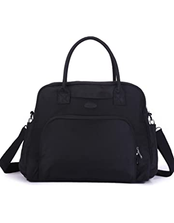 c4ee06339d55 Lily   Drew Carry On Weekender Overnight Travel Shoulder Bag for 15.6 Inch  Laptop Computers for