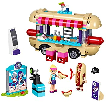 LEGO Friends 41129 Amusement Park Hot Dog Van Building Kit (243 Piece) by LEGO