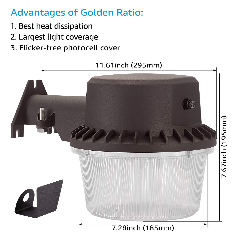TORCHSTAR Dusk-to-dawn LED Outdoor Barn Light (Photocell