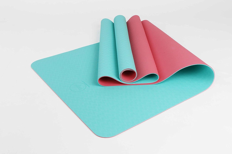Amazon.com : Maji Sports 1760601 2 Tone TPE Yoga Mat ...