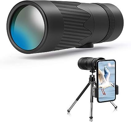 Jefshon Hd Zoom Monokular Teleskope Für Smartphones Kamera