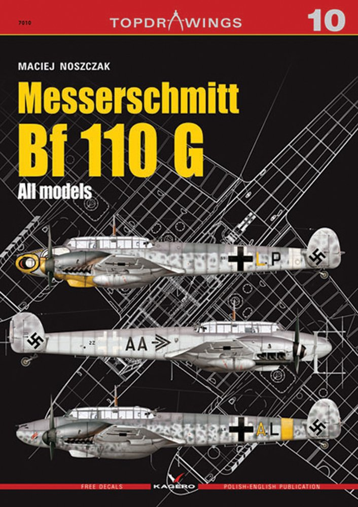 Messerschmitt Bf 110 G (Top Drawings)