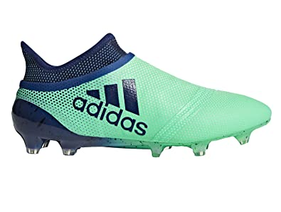 138ac4329 adidas Men's X 17+ PURESPEED FG Soccer Cleats (SZ. 9.5) Aero Green ...