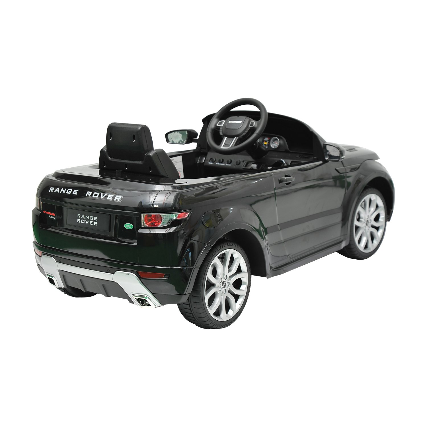 Land Rover Evoque Kids 6v Electric Ride On Toy Car W Range Wiring Diagrams Parent Remote Control Black Toys Games