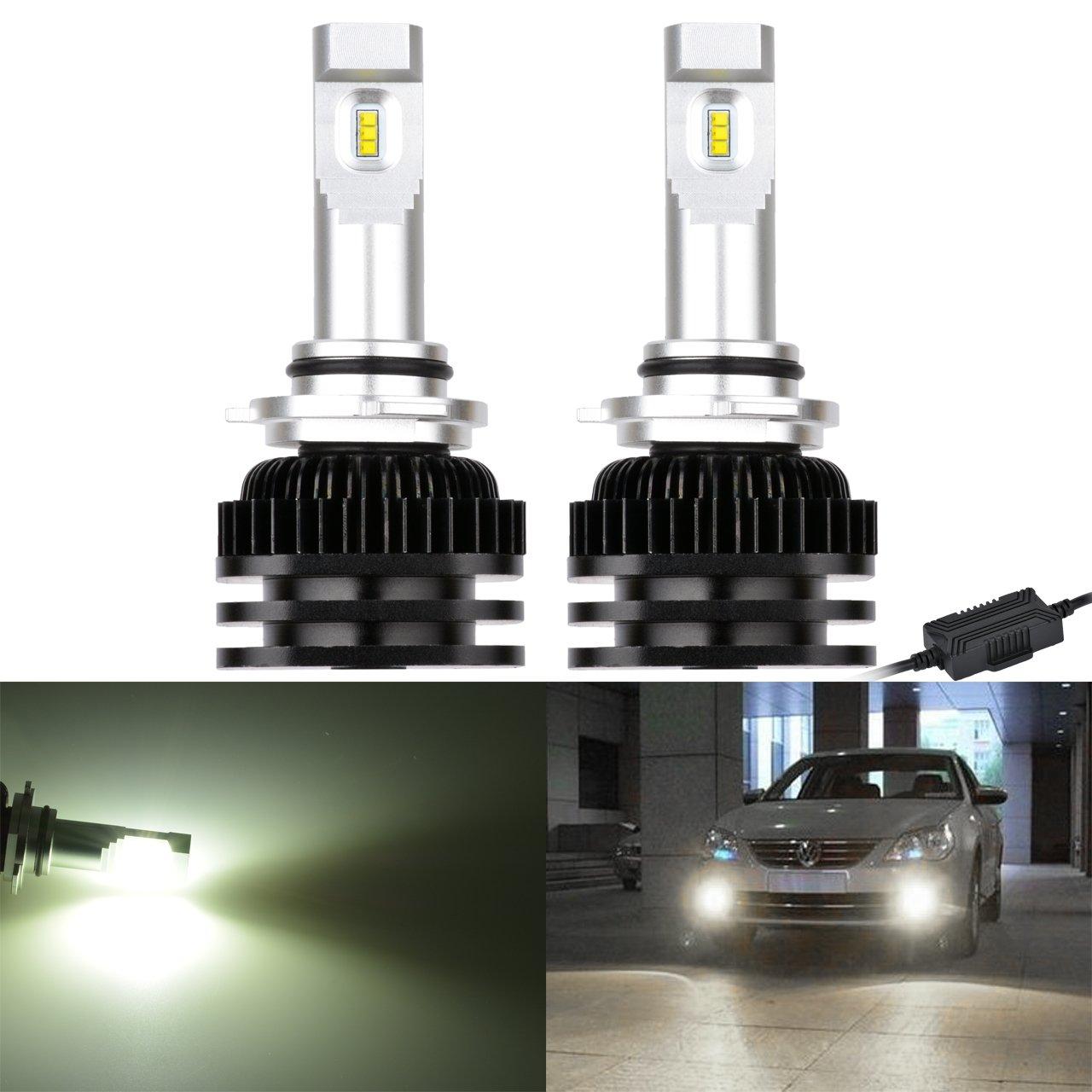 NGCAT 2PCS chip LED High Bright PSC 9005/9006/H10/Canbus senza errori nebbia luce LED Lampadina lampadine di guida luci diurne lampada kit 6000/K 2000/lm//Xenon Bulb bianco