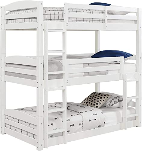 Dorel Living Sierra Twin Triple Bunk Bed