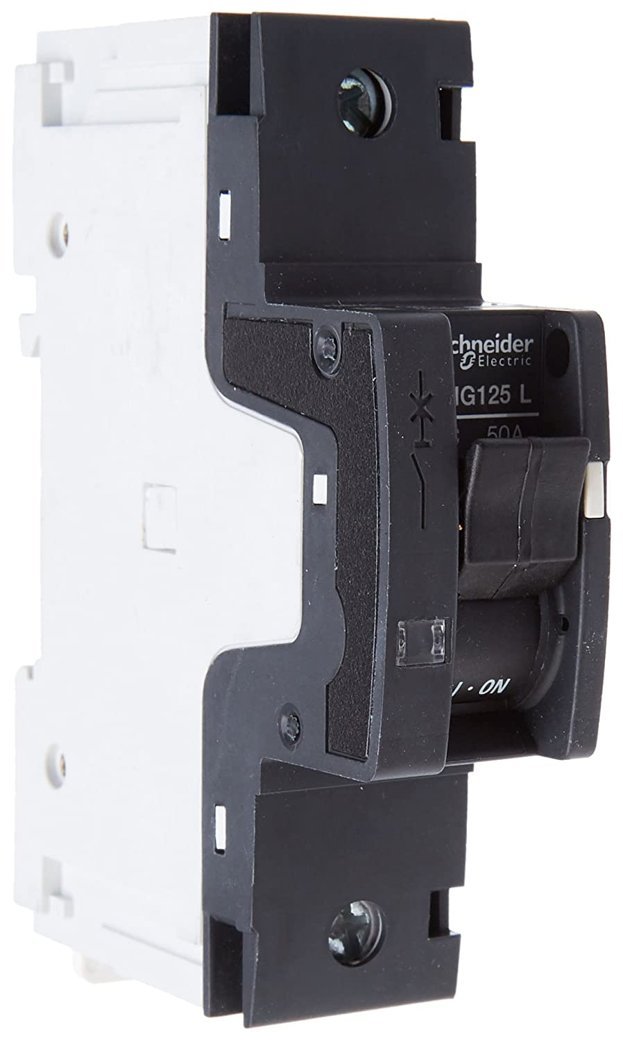 Schneider Electric 18783 NG125L 1P 50A, White