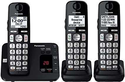 Panasonic DECT 6.0 Expandable Cordless Phone System