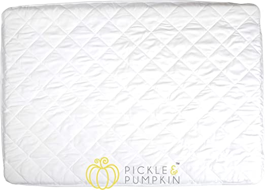 Bamuho Pack N Play Waterproof Fitted Crib Mattress Cover-39 x 27 Soft Breathable Mattress Pad /& Protector for Stains Proof