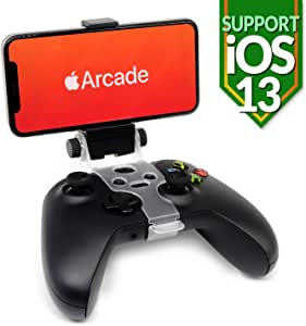 Mobile Phone Controller Clip Holder Mount - for iOS 13 Arcade Game Smartphone cellphones Foldable Bracket Adapter Clamp, Compatible with Xbox One, S, X, Elite Gamepad, Joystick by Reseeda (Xbox)