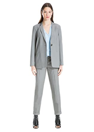 f3442c92708ab Max Studio Houndstooth Long-Sleeve Blazer at Amazon Women's Clothing store: