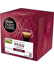 NESCAFÉ Dolce Gusto Espresso Peru Coffee Pods, Single Origin Peru, 12 Capsules (12 Serves) 84g