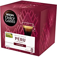 NESCAFÉ Dolce Gusto Espresso Peru Coffee Pods, Single Origin Peru, 12 Capsules (12 Serves) 84g