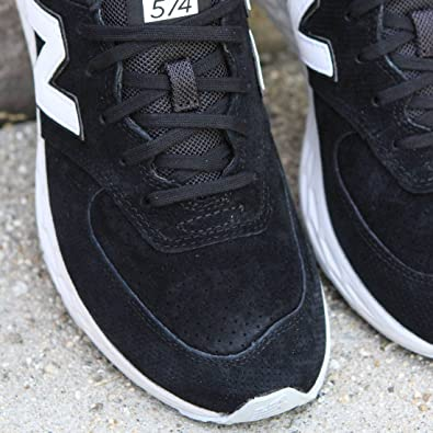 889719865fffb New Balance Men's 574 Fresh Foam Suede, Size: 5.5 Width: D Color Black