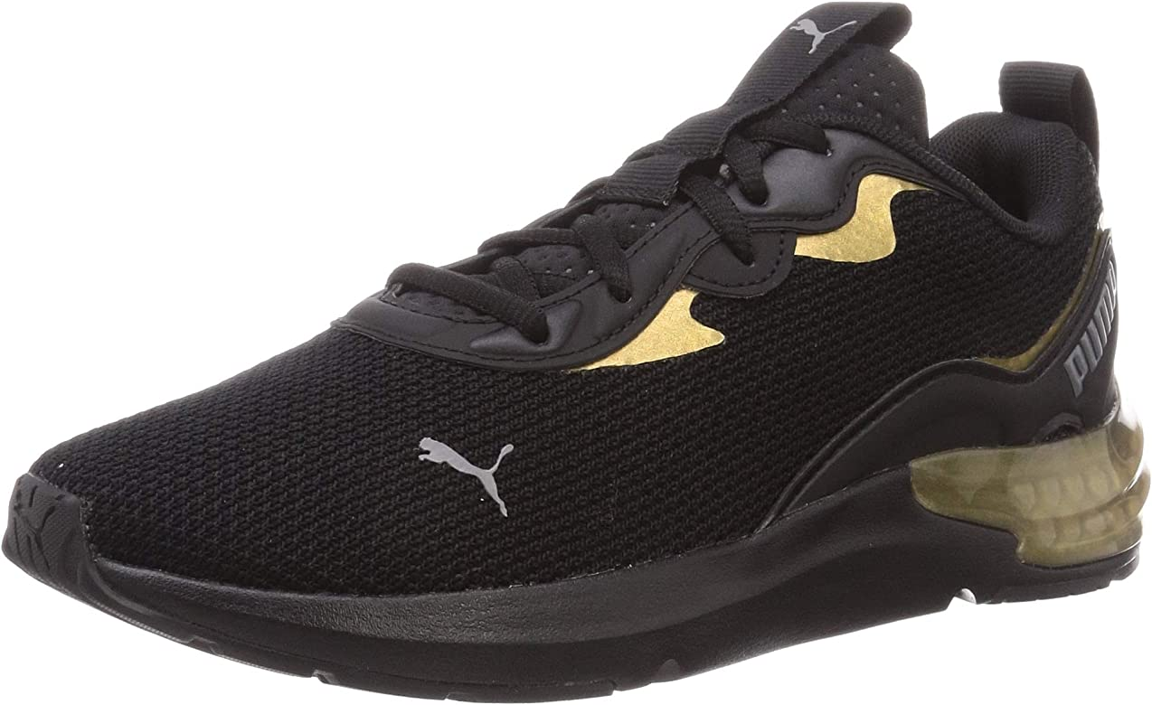 PUMA Cell Initiate WNS, Zapatillas de Gimnasio para Mujer, Negro Black/Gold, 41 EU: Amazon.es: Zapatos y complementos