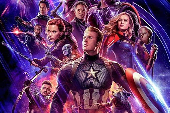 """22 Marvel Collage Poster Avengers End Game Infinity Wars Print 24x36/""""//60x90cm"""