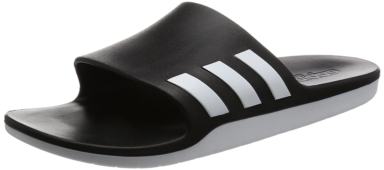 adidas Aqualette Cf, Unisex Adults' Thongs, Multicolored (Core Black/Footwear White/Core Black), 16 UK (53 EU) Unisex Adults' Thongs AQ2166