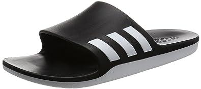 adidas Herren Adilette Badeschuhe, Schwarz (Core Black/Core Black/Footwear White), 47 EU