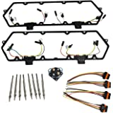 Amazon.com: APDTY 015312 Fuel Injector & Glow Plug Inner Wire Wiring on 1994 ford explorer stock radio amp, model a wiring harness, 1994 ford ranger wiring harness, jeep wiring harness, 1994 ford f-150 under dash connector box,