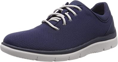 Mens Clarks Casual Textile Lace Up Fastening Shoes /'Step Urban Mix/'