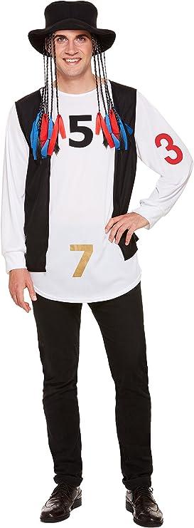 Best Dressed Disfraz para hombre de Star Boy George de los años 80 ...