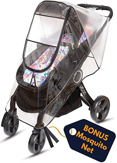 Qualified Raincoat For A Stroller Universal Strollers Pushchairs Baby Carriage Waterproof Dust Rain Cover Windshield Stroller Accessories Strollers Accessories Activity & Gear
