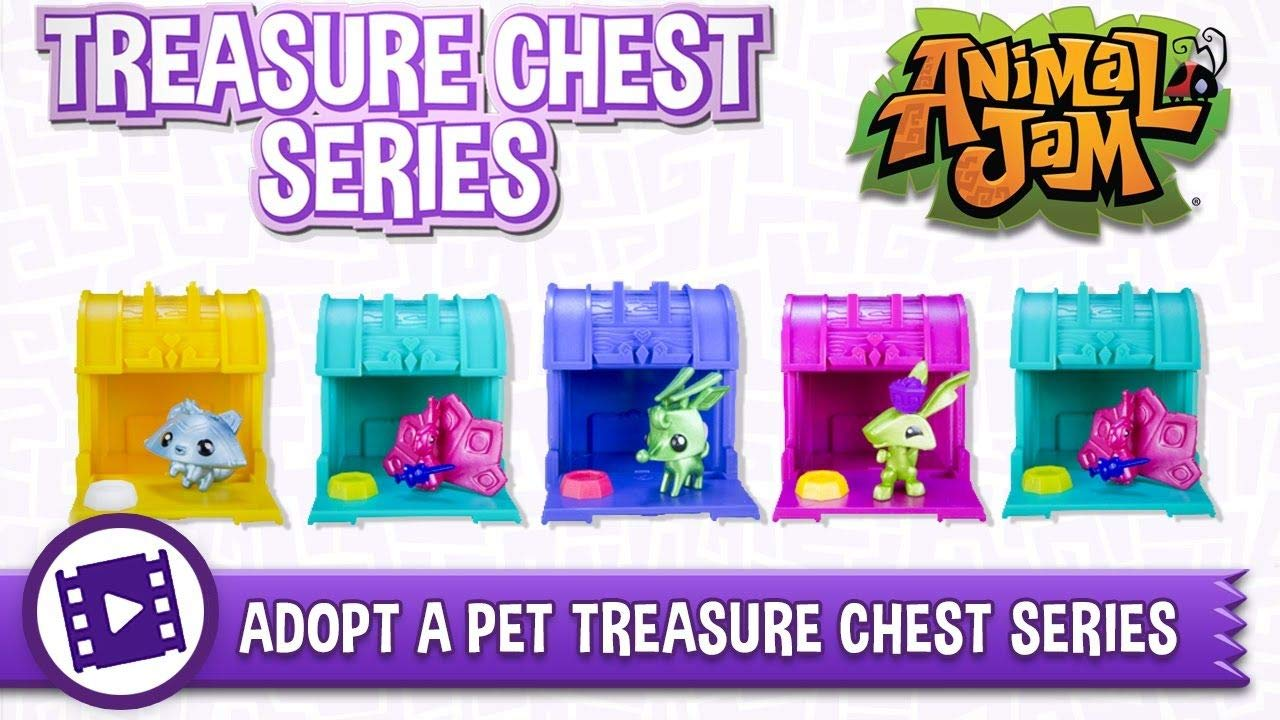 Animal Jam Adopt a Pet Treasure Chest Sealed Mystery Box of 24 Chests Game Code by Animal Jam (Image #4)