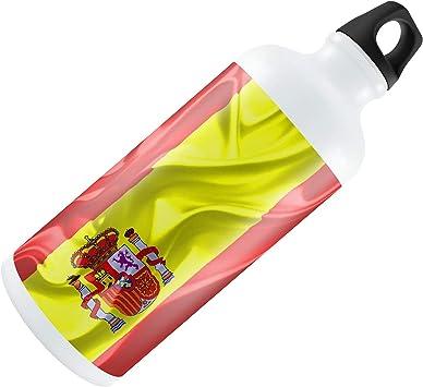 Yohoba Botella de Agua con Bandera de España 3D, 600 ML: Amazon.es: Deportes y aire libre