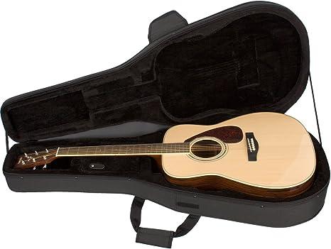 Protec MX201 - Estuche para guitarra acústica, color negro: Amazon ...