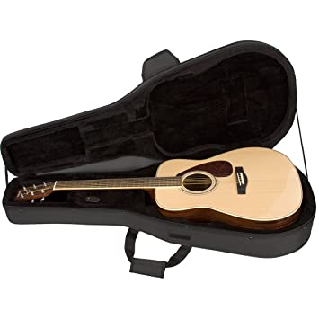 Protec MX201 - Estuche para guitarra acústica, color negro ...