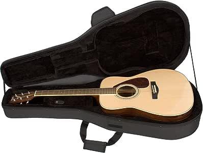 Protec MX201 - Estuche para guitarra acústica, color negro: Amazon.es: Instrumentos musicales