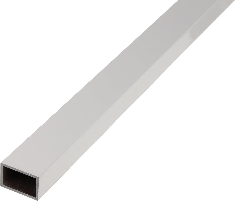 GAH-Alberts 471705 - Tubo rectangular (aluminio anodizado, 1000 x 50 x 20 mm)