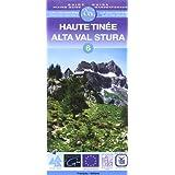 Carte de randonnée : Haute-Tinée - Alta, N° 6 (bilingue français-italien)