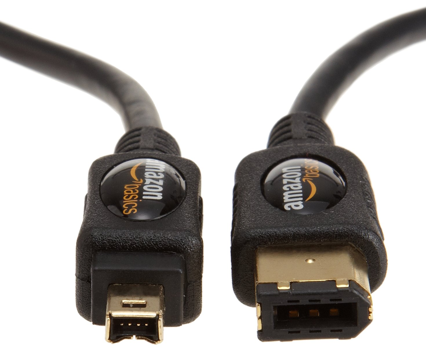 Amazonbasics Ieee 1394 4 Pin 6 Firewire Cable 18 M Feet 400 Likewise Usb Hdmi Laptop To Tv On Computers Accessories