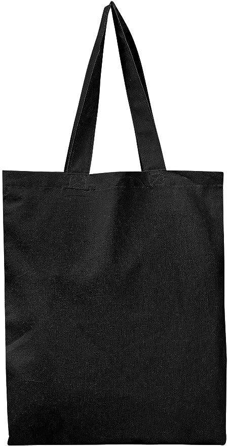 13e33d2e6af4 BULK 12 PACK (1 Dozen) Wholesale 100% Cotton Tote Bags, Plain Reusable Art  and Craft Pary Pack Tote Bags, Kitchen Storage Organization Tote Bags ...