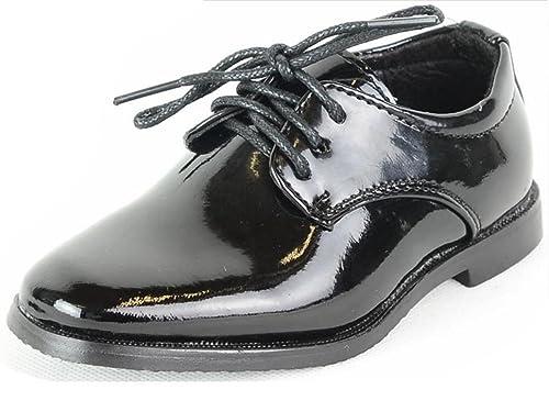 Kinder Lackschuhe Hochzeit Kommunion Konformation Festschuhe Schuhe schwarz weiß
