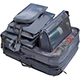 7 Piece Travel Packing Cube Value Set | 30% Space Saver Bags | Ultra Lightweight | Great for Duffel Bags, Carry on Luggage, and Backpacks (Grey)