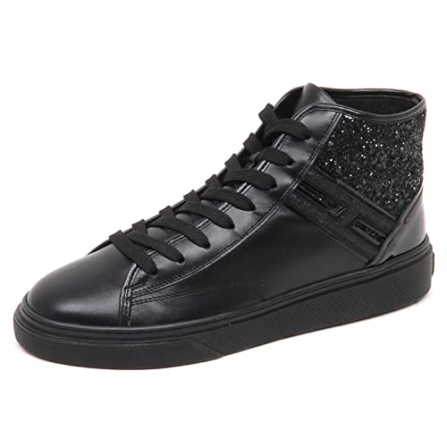 HOGAN sneaker donna nero H342 HI TOP H woman